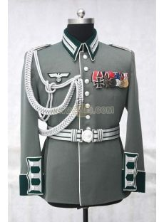 stock high quality Waffen SS, Wehrmacht, Luftwaffe and Kriegsmarine officer and enlisted tunic. Our German Uniforms are EXACTLY like the originals in every way. They are the best repro German uniforms on available value. Ww2 Uniforms, German Uniforms, Military Uniforms, German Soldiers Ww2, German Army, Ww2 German, Look Man, Military Dresses, Moda Masculina