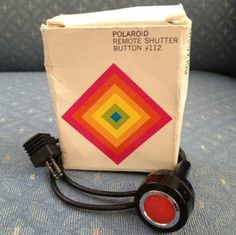 Polaroid SX - 70 shutter button! If you shoot Impossible film you gotta have this attachment for your camera!