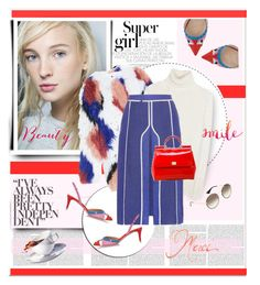 """Super Girl"" by anne-irene ❤ liked on Polyvore featuring Elizabeth and James, Nina Ricci, Fendi, Acne Studios, Dolce&Gabbana, Prada, women's clothing, women's fashion, women and female"