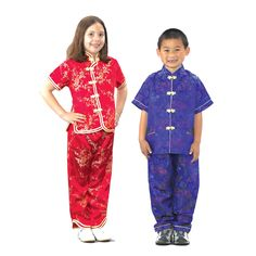 8968ae7d400 Traditional Symbolic Chinese Attire Costume for Boys and Girls Dress Up