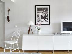 Ideas low cost y almacenaje de un piso sueco