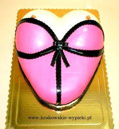 Tort gorset zrobiony przez Cukiernię Krakowskie Wypieki