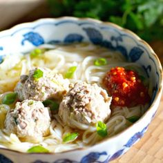 A healthy, quick, and easy weekday noodle soup for cold winter nights.