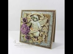 A Peek Into My Stamping Room: Tattered Angels