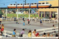 Butlins Skegness - Skating Rink & Monorail mid/late 1970s by trainsandstuff, via Flickr