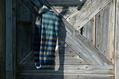 Ravelry: A Million Stripes Loop pattern by Brenda Burrell Plaid Scarf, Ravelry, Stripes, Pattern, Sock, Knitting, Tricot, Patterns, Breien
