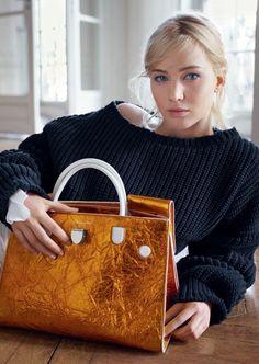 sacs à main femme en jaune et blanc effet froissé et métallique
