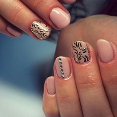 Transfer foil nails