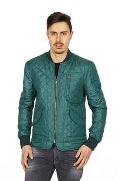 Dolce & Gabbana Men's Quilted Liner Jacket GREEN #DolceGabbana…
