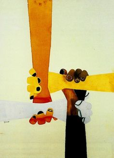 George Giusti | Black Yellow White Brown