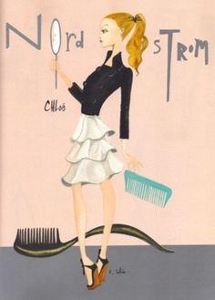 nordi girl, ruben toledo, fashion illustr, fashion sketch