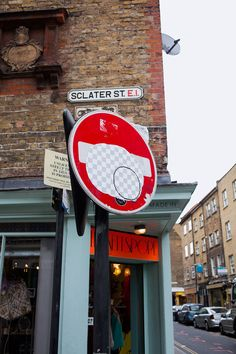 Street Eraser: Giant Stickers Appear to Erase the Streets of London
