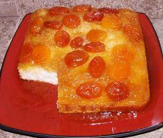 7UP Apricot Upside-Down Cake | FaveSouthernRecipes.com