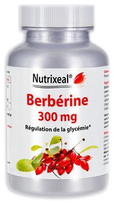 Extrait de Berberis aristata standardisé à 80% de berbérine et totum de Berberis vulgaris. Sans excipient. Laboratoire Nutrixeal, fabrication française.