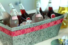 pink lemonade Pink Lemonade, Barware, Bridal Shower, Entertaining, Crystals, Drinks, Shower Party, Drinking, Beverages