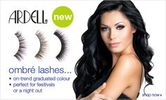 #New #ArdellLashes #ArdellOmbreLashes perfect for festivals or a night out!   http://www.madamemadeline.com/online_shoppe/products.asp?cat=Ardell+Ombr%E9+Lash+Collection
