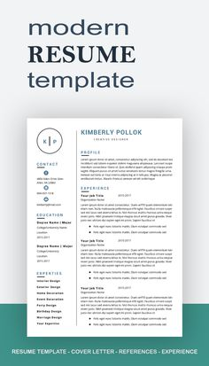 Resume template, Teacher resume template, teacher resume word,CV, CV template, 3 page resume, cover letter, resume writing, 3 pages resume