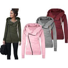 Long Sleeve Hoodie Jacket //Price: $18.80 & FREE Shipping //     #hashtag4