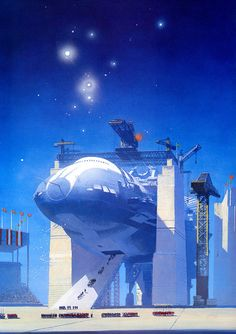 Astrona is an online collection of artists who specialize in space art, science fiction art & design. Take a journey through amazing images! Arte Sci Fi, Sci Fi Art, Cyberpunk, Concept Ships, Concept Art, Sci Fi Kunst, Science Fiction Kunst, Trippy, Beyond The Horizon
