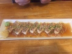 Tuna tataki, Qualicum Sushi, 133 W. 2nd Ave., Qualicum Beach, British Columbia