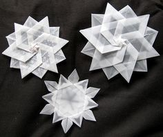 Schneeflocken - Snowflakes ~Just for inspiration