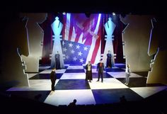 Chess. Aberystwyth Arts Centre Productions. Scenic design by Ali Allen. 2011