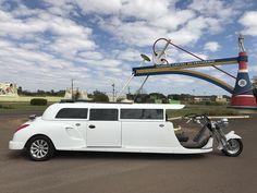 Primeiro triciclo limousine conversível com capota rígida removível do mundo