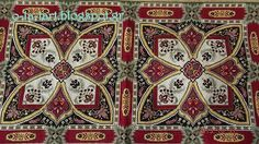 Square Patterns, Cross Stitch Patterns, Cross Stitches, Bohemian Rug, Projects To Try, Embroidery, Rugs, 1, Patterns