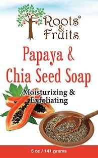 Papaya & Chia Seed Soap