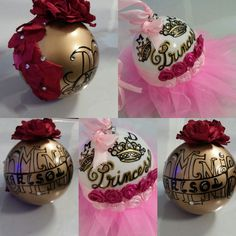 Princess Christams balls