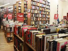 """THE STRAND BOOK STORE. With almost 90 years of history, over 18 miles of books and more than 200 employees, you know the Strand is packed with secrets. The only survivor of Fourth Avenue's 48 """"Book Row"""" shops -- perhaps because the store relocated to a more central thoroughfare -- the Strand is laden with NYC history."""
