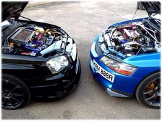 Subaru STI & Mitsubishi Lancer Evolution