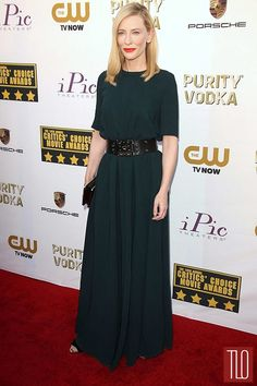 IN or OUT: Cate Blanchett in Lanvin at the 2014 Critics' Choice Movie Awards   Tom & Lorenzo Fabulous & Opinionated