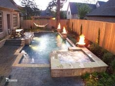 Having a pool sounds awesome especially if you are working with the best backyard pool landscaping ideas there is. How you design a proper backyard with a pool matters. Small Swimming Pools, Swimming Pools Backyard, Small Pools, Swimming Pool Designs, Small Backyards, Lap Pools, Indoor Pools, Pool Decks, Backyard Pool Landscaping