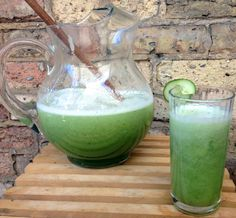 Cucumber Agua Fresca - A refreshing summer drink to keep cool as a cucumber (via KitchenNomad.com)