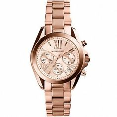 I would love a rose-gold watch.