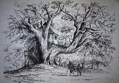 Victorian visitor's sketch