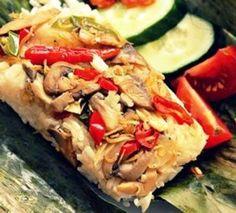 Resep Membuat Nasi Bakar Jamur Pedas Spesial Rice Recipes, Cooking Recipes, Nasi Bakar, Indonesian Food, Indonesian Recipes, Cooking Time, Risotto, Food And Drink, Vegetarian