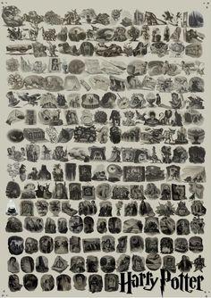 every Harry Potter chapter illustration! @Megan Dombroski