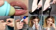 Lip balm is one of the items present in every woman's handbag. The product protects the lips from harsh weather conditions, but it seems that it has many more uses almost no one is aware about. Here are the 7 unexpected lip balm uses you never knew a Height To Weight Chart, Height And Weight, Weight Charts, Beauty Hacks, Beauty Tips, Body Shapes, Lip Balm, Eyebrows, How To Apply