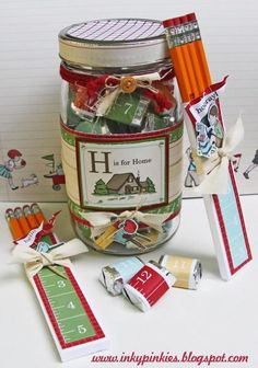Back to (Home) School Treat Jar