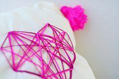 DIY geometric heart cushion - Re-decorating part 3 | Clones N Clowns by Aimee WoodClones N Clowns by Aimee Wood