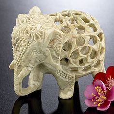 Just found one of boyfriends christmas presents :) World Market's Soapstone Elephant $9.99