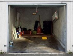 Garage Door Sticker Photo