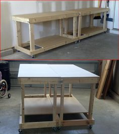 Thinking of building your own workbench but aren't quite positive where to start? Then, you're in right place. In this post, we've compiled 11 DIY workbench ideas that you can use in your affect area, in your garage, or in your home office.