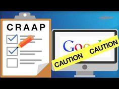 Evaluating Websites - YouTube