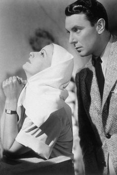 """Greta Garbo & George Brent en  """"El Velo Pintado"""" (1934)"""