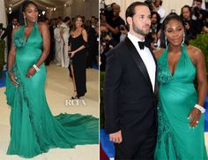 Serena Williams In Atelier Versace – 2017 Met Gala