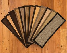 New Carpet Stair Treads arrivals made of Natural Earth Friendly Sisal http://www.naturalarearugs.com/stair-brighton.html