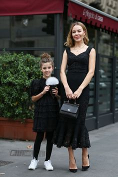 Lacey black family street style